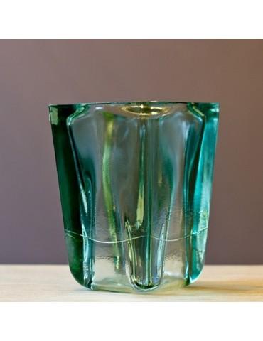 """Perdirbto stiklo Vaza """"Florero Quad"""" 21 cm"""