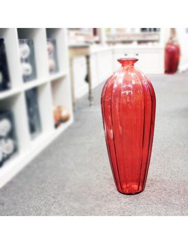 "Perdirbto stiklo Vaza ""Etnico"" 56 cm"