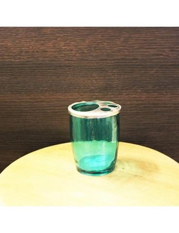 """Perdirbto stiklo Indas vonios reikmenims """"Bano C/Metal"""" mėtų spalvos 12 cm"""