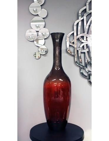 "Perdirbto stiklo vaza ""Tradicional"" 100cm."