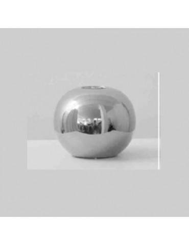 Maža žvakidė 11,5cm pilka/sidabrinė