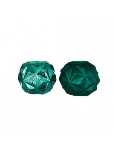 "Interjero aksesuaras ""Abstract Ball"" žalias, 10x10x8cm"