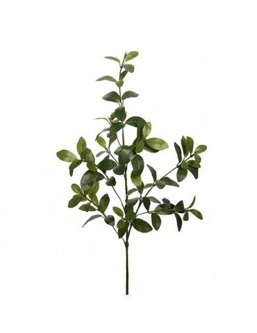 Gėlė su žaliais lapais, 90cm