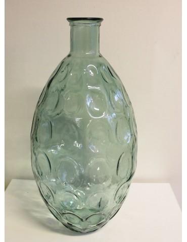 "Perdirbto stiklo vaza ""Dune"" 59 cm."