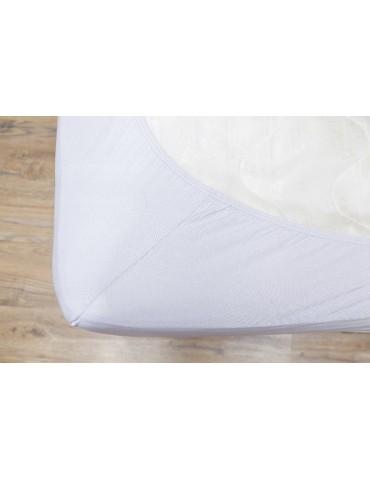 Vilnonė lovatiesė 140x200 cm pilka