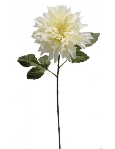 Gėlė kreminė dalija 70 cm.
