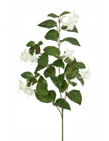 Gėlė balta fuksija 75 cm.