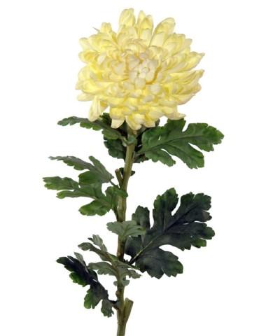 Gėlė geltona chrizantema 67 cm.