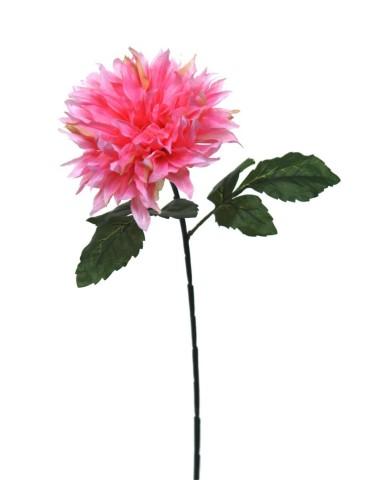 Gėlė rožinė dalija 70 cm.