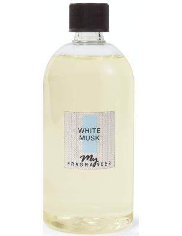 """""""MYF"""" namų kvapų papildymas """"White musk"""" 500 ml"""