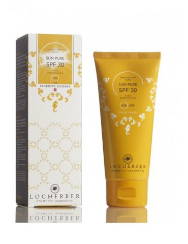 """""""Locherber"""" apsauginis kremas nuo žalingo saulės poveikio SPF 30 100 ml"""