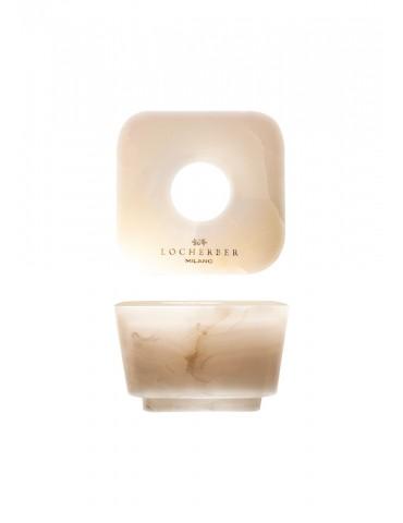 """""""Locherber"""" namų kvapų difuzoriaus marmurinis dangtelis""""White Onyx"""""""