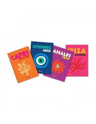 """ASSOULINE knyga """"Carnet de Voyages Mini Notebooks (4 vnt)"""""""