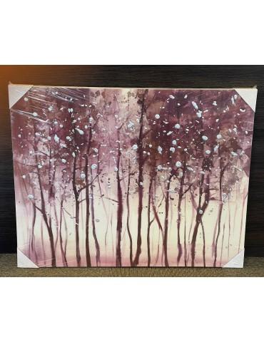 """Paveikslas """"Canvas Trees"""" 100x3x80cm"""