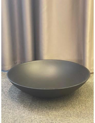 Dubuo medinis, juodas, 55x55x14cm